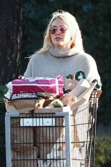 Hilary Duff Shopping at Ralph's Supermarket in Studio City