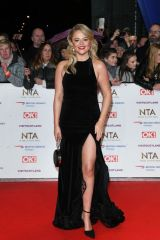 Emily Atack At national television awards 2019 in London