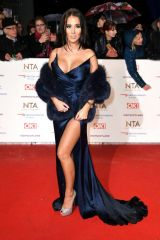 Yazmin Oukhellou At national television awards 2019 in London