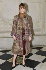 Alice Isaaz At Christian Dior Show at Paris Fashion Week