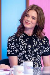 Emilia Fox At Loose Women TV Show