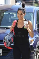 Nikki Bella Leaving her Yoga class in Santa Monica
