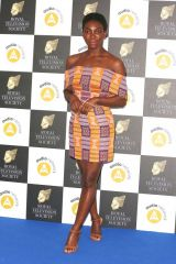Michaela Coel Attends The Royal Television Society Programme Awards 2019 ( RTS Awards ) at the Grosvenor House Hotel in London
