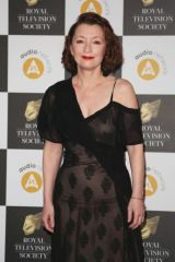 Lesley Manville Attends The Royal Television Society Programme Awards 2019 ( RTS Awards ) at the Grosvenor House Hotel in London