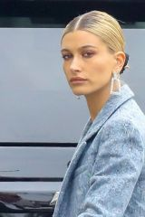Hailey Baldwin Looking Blue In Orange County