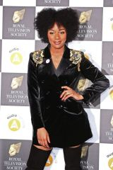 Rachel Adedeji Attending The Royal Television Society Programme Awards in London