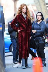 Nicole Kidman Filming 'The Undoing' in NYC