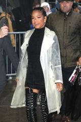 Christina Milian Arriving at 'Good Morning America' in NYC