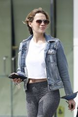 Bethany Joy Lenz Runs some errands in LA