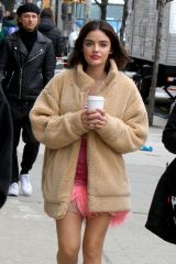 Lucy Hale On the set of 'Katy Keene' in NYC