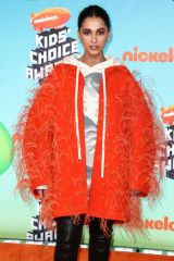 Naomi Scott At Nickelodeon Kids' Choice Awards 2019 in Los Angeles