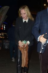 Uma Thurman Out in London