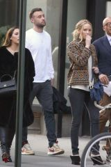 Jennifer Lawrence and Cooke Maroney are apartment shopping with John Gomes in NYC