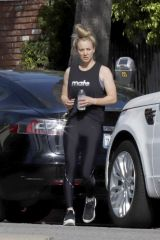 Kaley Cuoco Spotted after a workout session in Los Angeles
