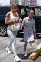 Jennifer Lopez At the Gym in Miami