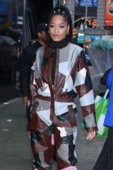 Keke Palmer Out in NYC