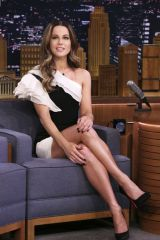 Kate Beckinsale At The Tonight Show Starring Jimmy Fallon in New York