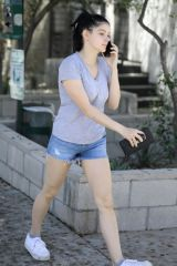 Ariel Winter Out shorts in LA