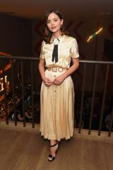 Jenna Coleman At 'All My Sons' After Party in London
