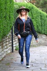 Carol Vorderman Out in Bristol
