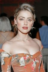 Amber Heard At 18th annual Vital Voices Global Leadership Awards at The Kennedy Center in Washington