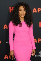 Angela Bassett At 'The Apollo' film premiere on Tribeca Film Festival opening night in NYC