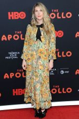 Lily Rabe At 'The Apollo' film premiere on Tribeca Film Festival opening night in NYC
