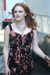 Madeline Brewer On the set of ''Hustlers'' in New York City