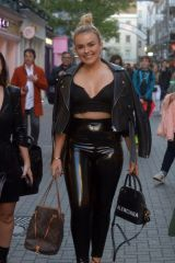 Tallia Storm Out and about in Carnaby Street in London