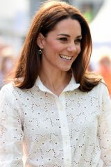 Kate Middleton At RHS Chelsea Flower Show at the Royal Hospital Chelsea in London