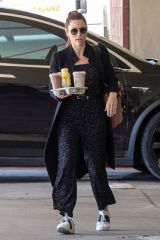 Jessica Biel Arrives at the Children's Hospital in Los Angeles