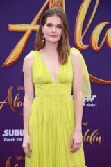 Meghann Fahy At Disney's 'Aladdin' Premiere in Hollywood