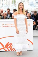 Margot Robbie At Once Upon A Time In Hollywood Photocall in Cannes