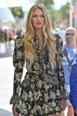 Romee Strijd Out on Croisette at Cannes Film Festival