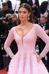 Iris Mittenaere At ''Oh Mercy!'' Screening at 72nd Annual Cannes Film Festival
