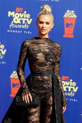 Lala Kent At 2019 MTV Movie and TV Awards at Barker Hangar in Santa Monica