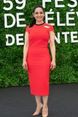 Archie Panjabi At 'Departure' TV show photocall, 59th Monte Carlo Television Festival, Monaco