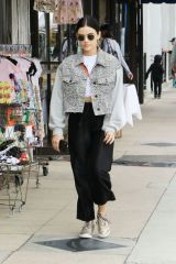 Lucy Hale At the farmer's market in Studio City