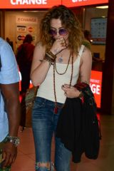 Paris Jackson Out in Florence