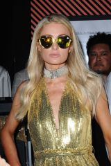 Paris Hilton At Play the DJ at Nightingale for sbe Nightlife's Dean May Birthday Party in Los Angeles