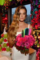 """Nina Agdal At """"Knot-A-Real-Wedding"""" for Conair's The Knot Dr. Detangling Brush in NYC"""