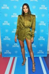 Olivia Culpo At Vital Proteins Collagen Water Launch Party at Millennium Park in Chicago