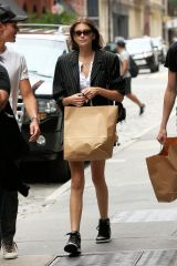 Kaia Gerber Shopping in NYC