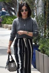 Lucy Hale Running errands in Studio City