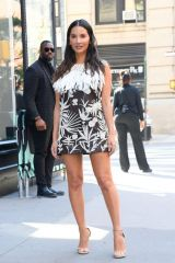 Olivia Munn At Continues her promotional tour for her new TV series 'The Rook' on Starz in New York City