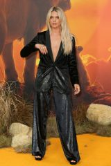 Louisa Johnson At The European Premiere of 'The Lion King' at the Odeon Luxe, Leicester Square - London