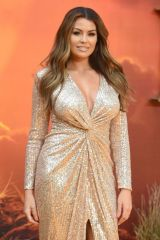Jessica Wright At The European Premiere of 'The Lion King' at the Odeon Luxe, Leicester Square - London