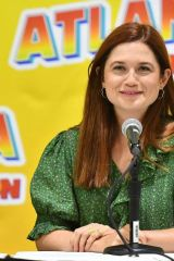 Bonnie Wright At Panel at 2019 Atlanta Comic-Con