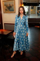 Felicity Jones At #MOVINGLOVE Dinner Hosted by Felicity Jones in London