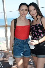 Veronica Merrell & Vanessa Merrell At Instagram's 3rd Annual Instabeach Party in Pacific Palisades